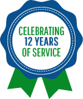 Celebrating 12 Years of Service