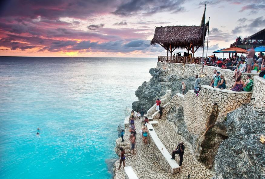 Negril beach walk